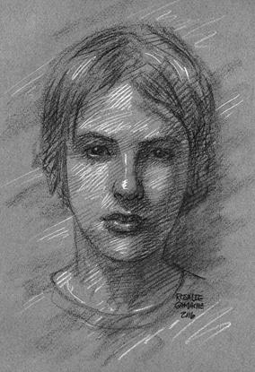 Atelier de portrait. Rosalie Gamache